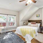 Upper master bedroom