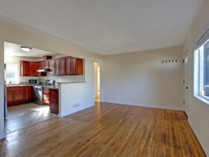 Fantastic Updated Living/Kitchen Combo