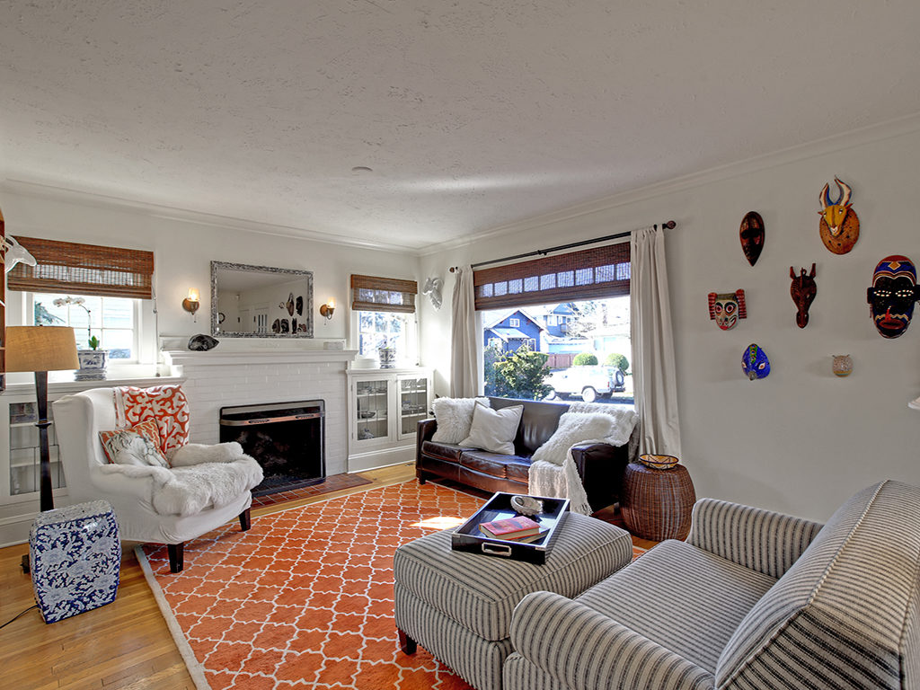 Gorgeous Alameda English Living Room