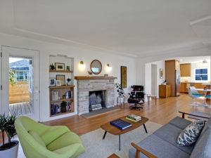 Stellar Richmond Renovation Living Room