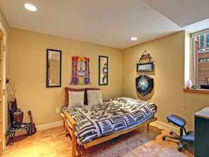 Renovated basement Bedroom