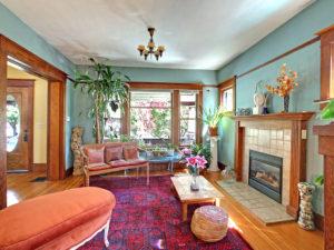 Gorgeous Portland Craftsman Living Room