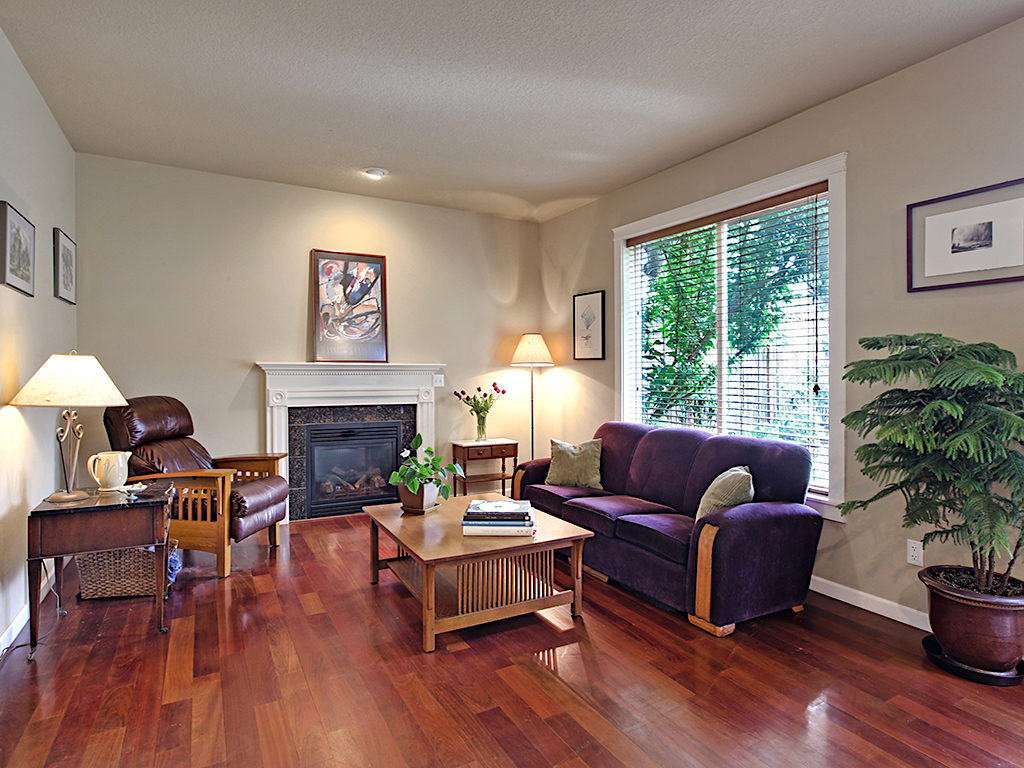 Beautiful Craftsman Style Family Room
