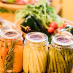 pickles and vegetables