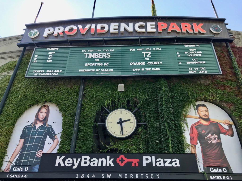 Providence Park Entrance