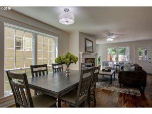 Sherwood cottage dining room