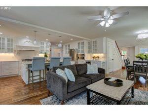 Sherwood cottage living room