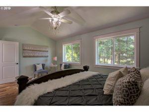 Sherwood cottage master bedroom