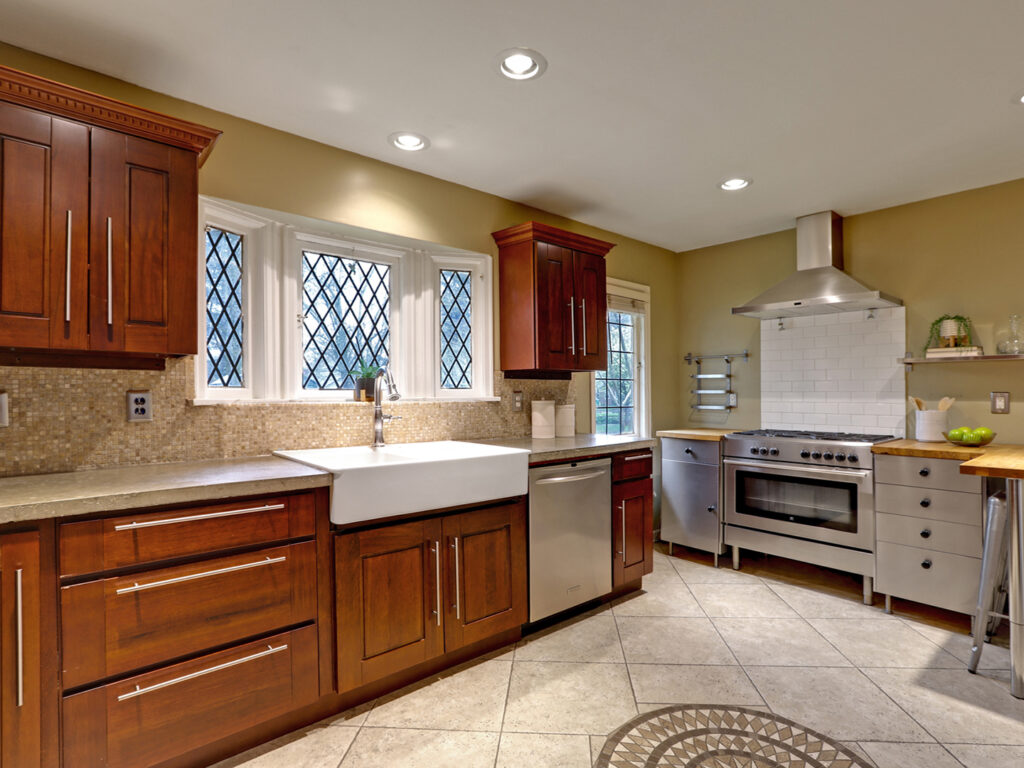 Renovated Gourmet English Kitchen