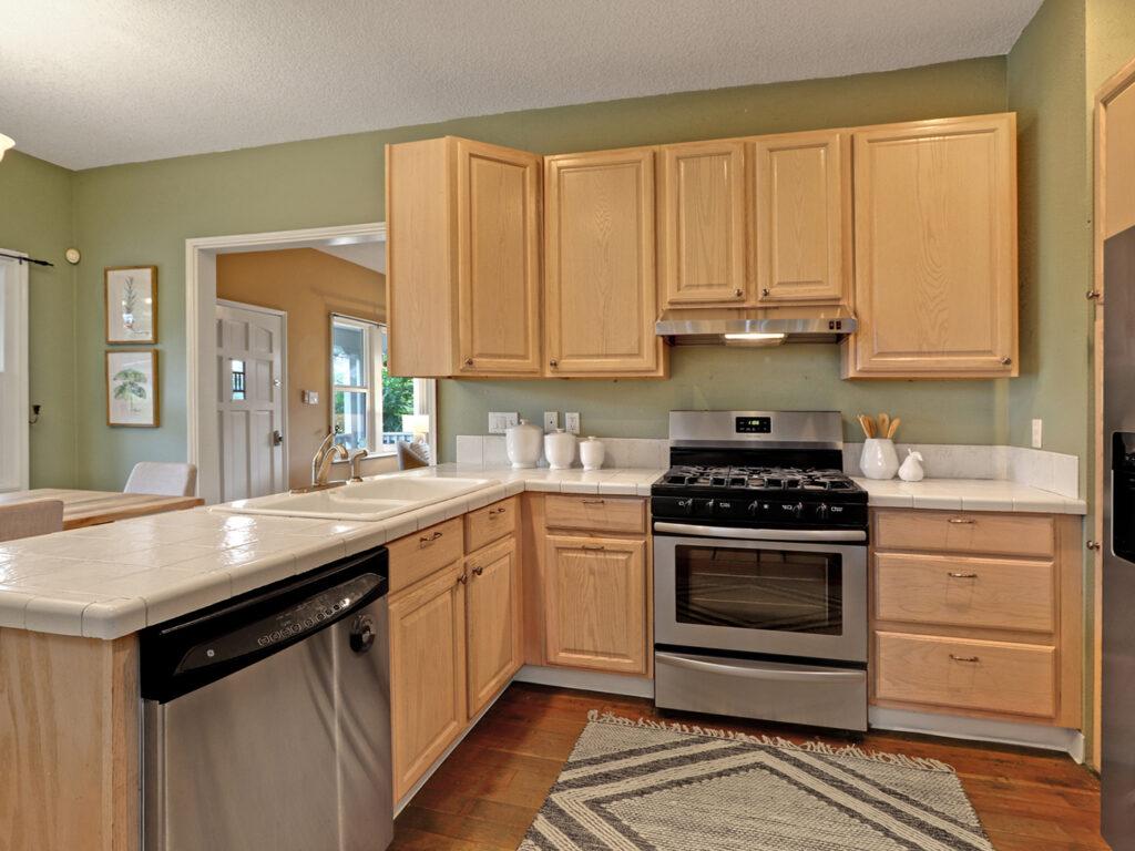 Updated Bungalow Kitchen