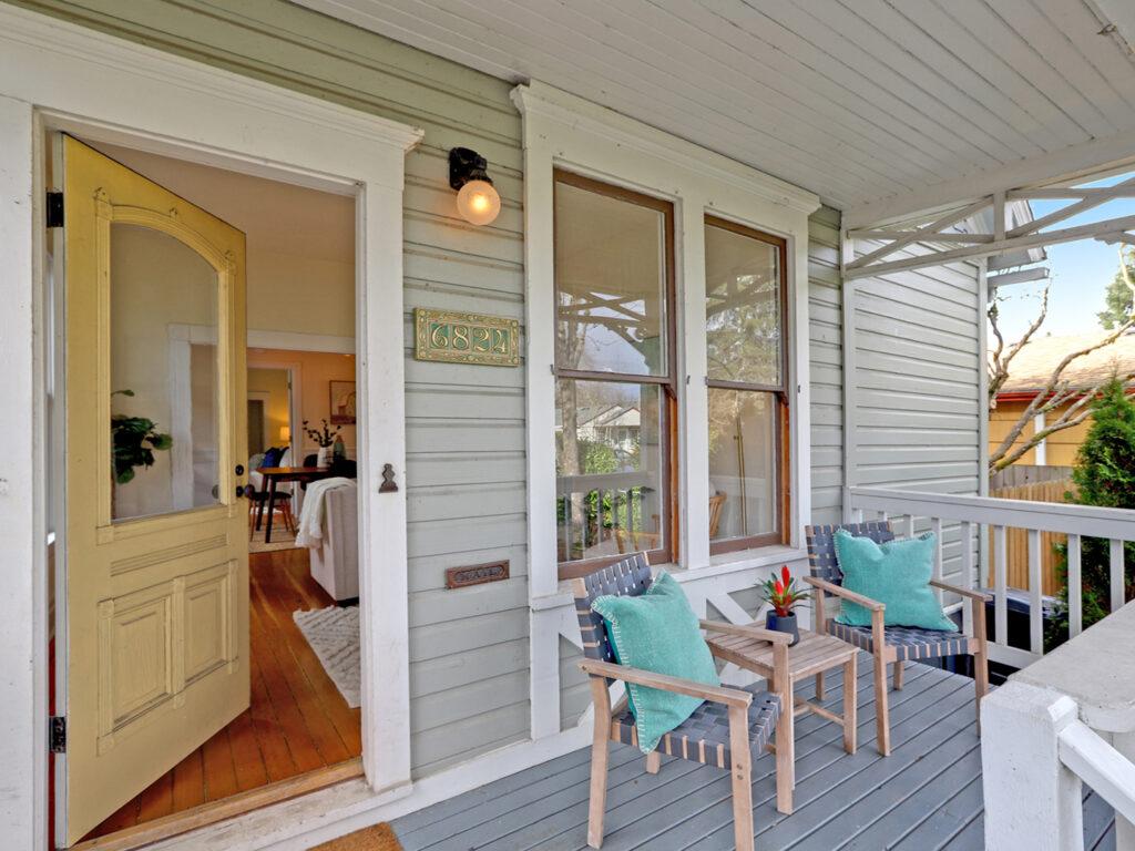 Woodstock Victorian Porch