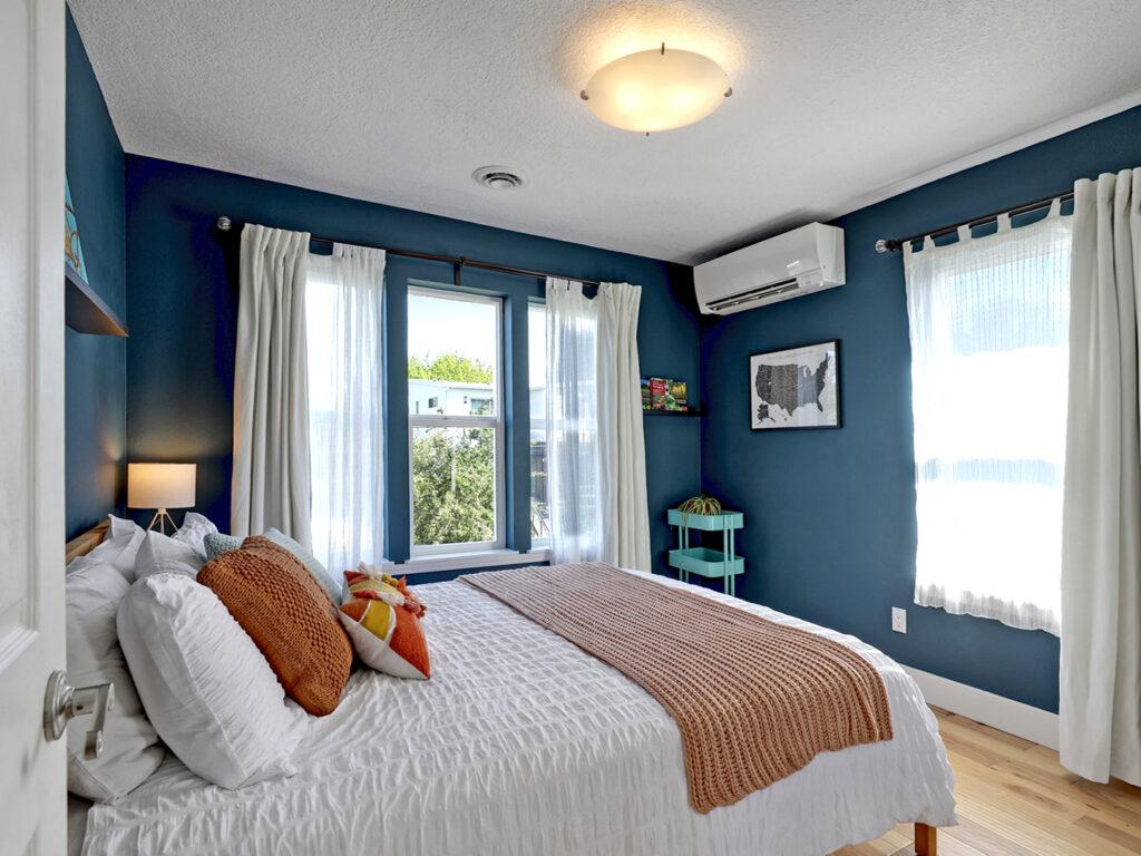 Master Bedroom with Garden Views